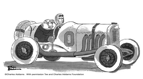 Charles Addams And His Cars 1948 1960