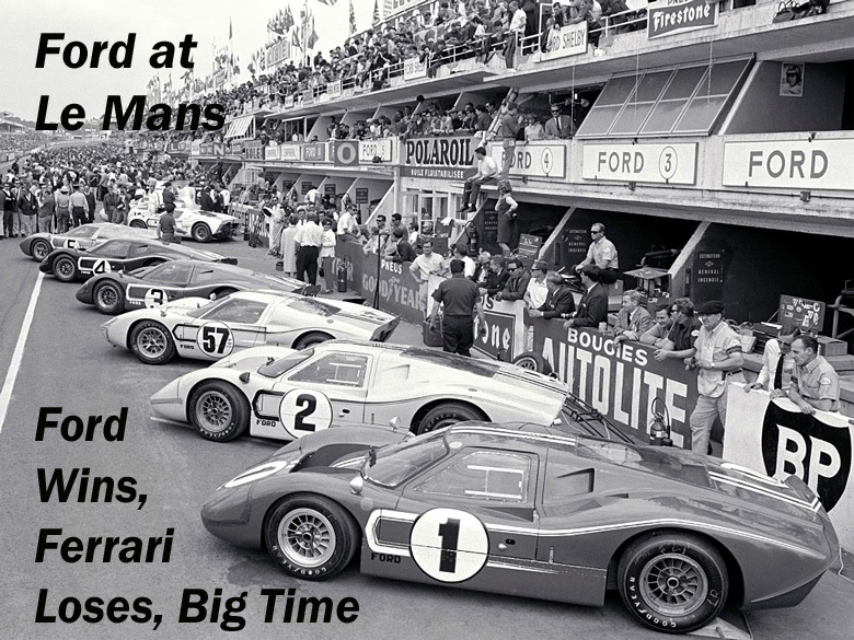 Ford At Le Mans Hows And Whys